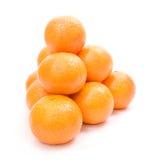 Mandarine pyramid Stock Photos