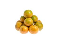 Mandarine. schließt einen Beschneidungspfad mit ein Stockfoto