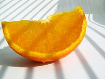 Mandarine - slice Stock Images