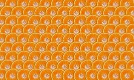 Mandarine slices Royalty Free Stock Photo