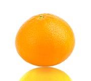 Mandarine sur le fond blanc Image libre de droits