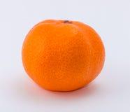 Mandarine sur le fond blanc Images stock