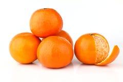 Mandarinefrüchte Lizenzfreies Stockbild
