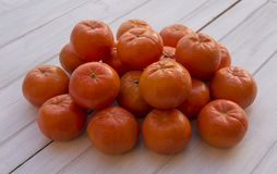 Mandarinehög royaltyfri bild