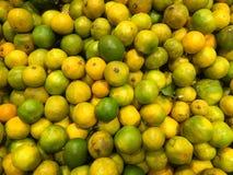 mandarinen frucht Fragment von einem Obst- und Gemüse Shop 1 Stockfoto
