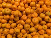 Mandarinen vom Nachtmarkt Lizenzfreie Stockfotografie