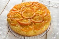 Mandarinenkuchen Stockbilder