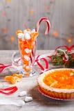 Mandarinentörtchen Stockbild