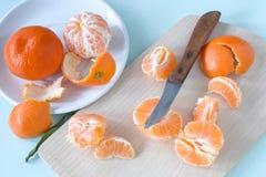 Mandariner Arkivfoton