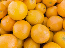 Mandariner på den Thailand marknaden Royaltyfri Fotografi