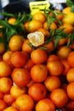 Mandariner vinterfrukter royaltyfri foto