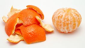 Mandarines Stock Photography