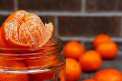 mandarines Images libres de droits