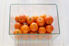 Mandarines Photographie stock