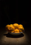 mandarines photographie stock libre de droits