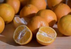 Mandarines Obrazy Royalty Free