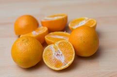 Mandarines Arkivfoto