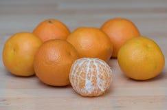 Mandarines Fotografia Royalty Free