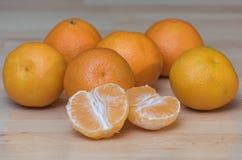 Mandarines Arkivbild