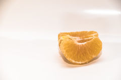 Mandarines d'isolement sur le blanc Image stock