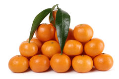 mandarines de segment de mémoire Image libre de droits