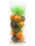 Mandarines decoration Royalty Free Stock Photo