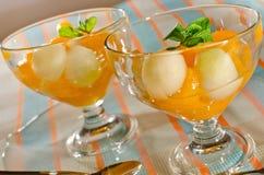 Mandarines en un vector Fotos de archivo libres de regalías