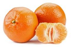 Mandarines maduros Imagenes de archivo