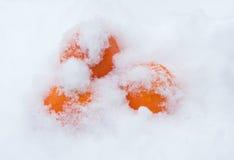 mandarines Noël Photos libres de droits
