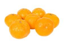 Mandarines savoureuses. Images libres de droits
