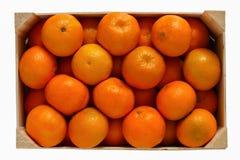 Mandarines sin pelar fotos de archivo libres de regalías