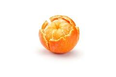 Mandarines on white background Royalty Free Stock Photo