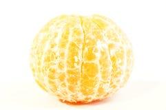 Mandarini arancio maturi isolati Fotografia Stock Libera da Diritti