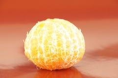 Mandarini arancio maturi isolati Fotografie Stock
