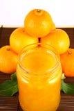 Mandarini dell'ostruzione Fotografia Stock