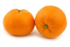 Mandarini freschi Fotografia Stock Libera da Diritti