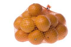 Mandarini isolati Fotografie Stock