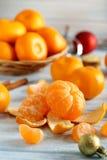 Mandarini maturi Fotografia Stock