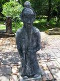 Mandarino alla tomba dell'imperatore Minh Mang, tonalità Vietnam Fotografia Stock Libera da Diritti