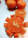 Mandarino: Arancia 4 di Freshy Fotografie Stock Libere da Diritti