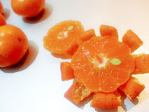 Mandarino: Arancia 2 di Freshy Immagine Stock Libera da Diritti