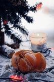 Mandarino del nuovo anno fotografia stock