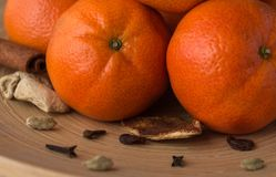 Mandarino del ` s del nuovo anno Fotografia Stock