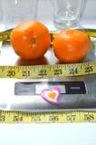 Mandarino due fotografie stock libere da diritti