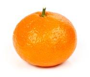 Mandarino fresco isolato Fotografia Stock