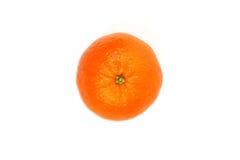 Mandarino isolato sui precedenti bianchi Immagine Stock Libera da Diritti