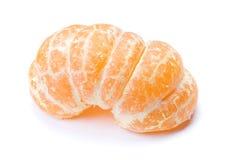 Mandarino sbucciato immagini stock libere da diritti