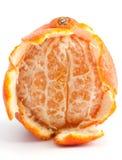 Mandarino sbucciato fresco fotografie stock