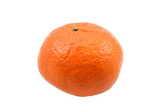 Mandarino su fondo bianco fotografia stock