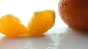 mandarins Royalty-vrije Stock Afbeeldingen